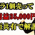 カメラ1個売って純利益35,000円!画面共有で詳しく解説